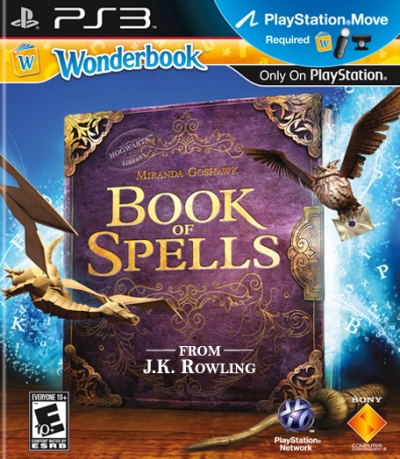 Artwork ke hře Wonderbook: Book of Spells