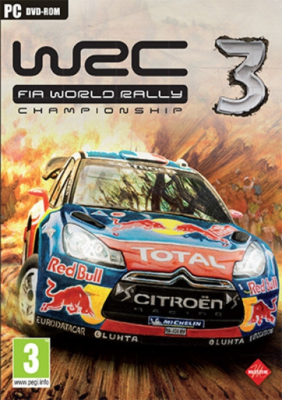 Artwork ke hře WRC 3
