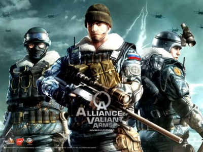 Artwork ke hře Alliance of Valiant Arms