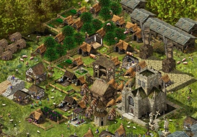 Screen ze hry Stronghold Kingdoms