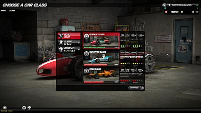 Screen ze hry Victory: The Age of Racing