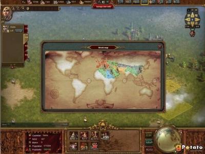 Screen ze hry Terra Militaris