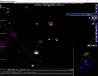 Artwork ke hře Starport: Galactic Empires