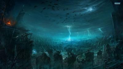 Artwork ke hře Battle of the Immortals