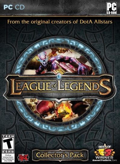 Obal hry League of Legends