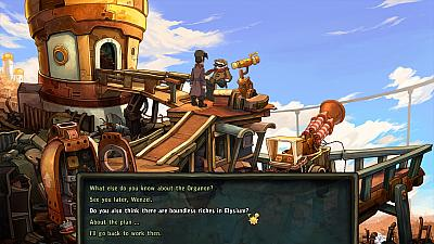Screen ze hry Deponia