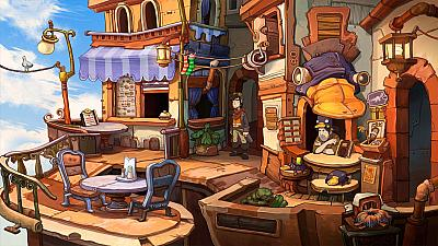 Screen ze hry Chaos on Deponia