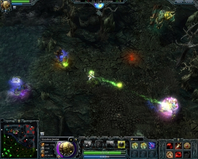 Screen ze hry Heroes of Newerth