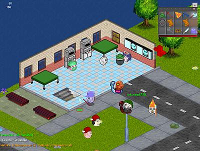Screen ze hry Chmatákov Online