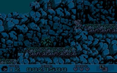 Screen ze hry Prehistoric 2