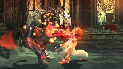 Screen ze hry Tekken Revolution