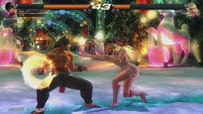 Screen ze hry Tekken Revolution