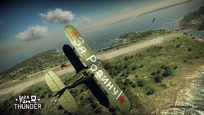 Screen ze hry War Thunder