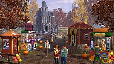 Screen ze hry The Sims 3: Roční období