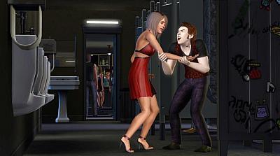 Screen ze hry The Sims 3: Po setmění