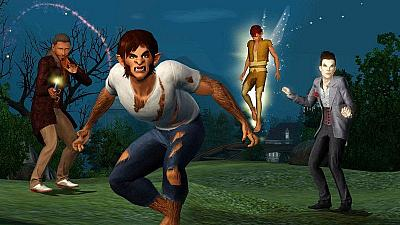 Screen ze hry The Sims 3: Obludárium
