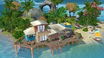 Screen ze hry The Sims 3: Tropický ráj