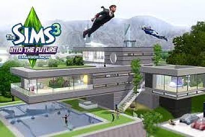 Screen ze hry The Sims 3: Do budoucnosti