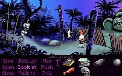 Screen Secret of Monkey Island, The
