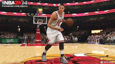 Screen ze hry NBA 2K14