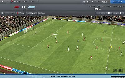 Screen ze hry Football Manager 2013