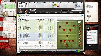 Screen ze hry FIFA Manager 14