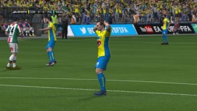 Screen ze hry FIFA 14