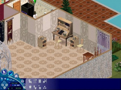 Screen ze hry The Sims