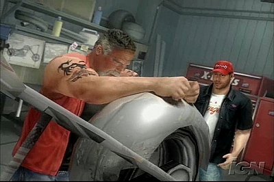 Screen ze hry American Chopper 2: Full Throttle