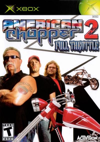 Obal hry American Chopper 2: Full Throttle