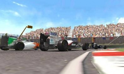 Screen ze hry F1 2011
