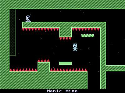 Screen ze hry VVVVVV