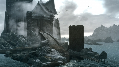 Screen ze hry The Elder Scrolls V: Skyrim - Dawnguard