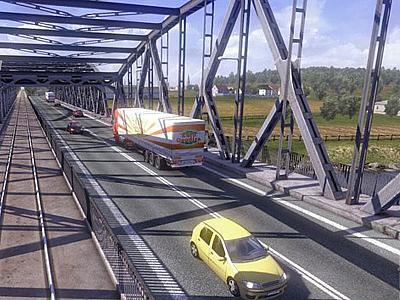 Screen ze hry Euro Truck Simulator 2: Going East