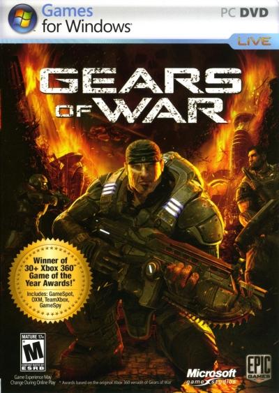 Obal hry Gears of War