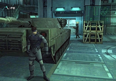 Screen ze hry Metal Gear Solid