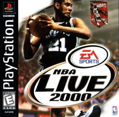 Obal hry NBA Live 2000