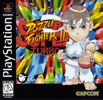 Obal hry Super Puzzle Fighter II Turbo