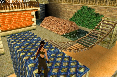 Screen ze hry Tomb Raider II
