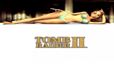 Artwork ke hře Tomb Raider II