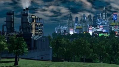 Artwork ke hře SimCity 3000