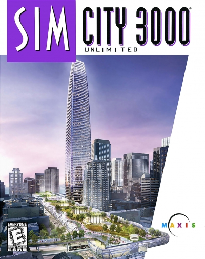 Obal hry SimCity 3000