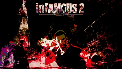 Artwork ke hře InFamous 2
