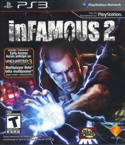 Obal hry InFamous 2