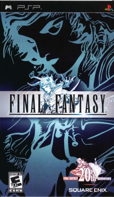 Obal hry Final Fantasy