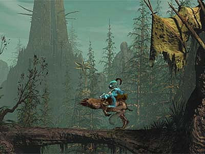 Screen ze hry Oddworld: Abe´s Oddysee