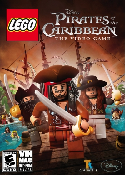 Obal hry LEGO Pirates of the Caribbean: The Video Game