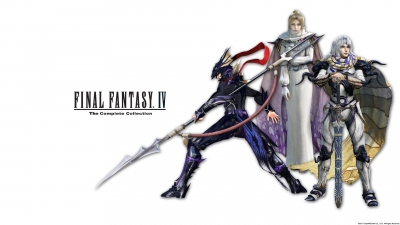Artwork ke hře Final Fantasy IV: The Complete Collection