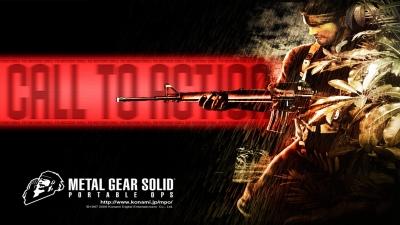 Artwork ke hře Metal Gear Solid: Portable Ops