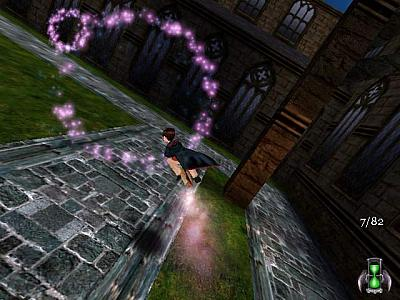 Screen ze hry Harry Potter and the Sorcerer´s Stone
